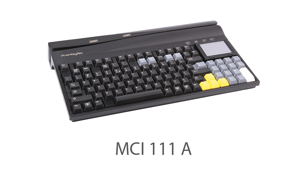 MCI 111 OCR Keyboard
