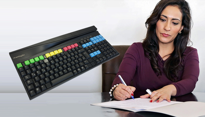 Tax accountant keyboard