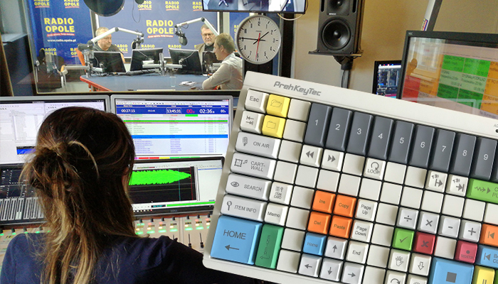 Programmable keyboard for Radio Opole