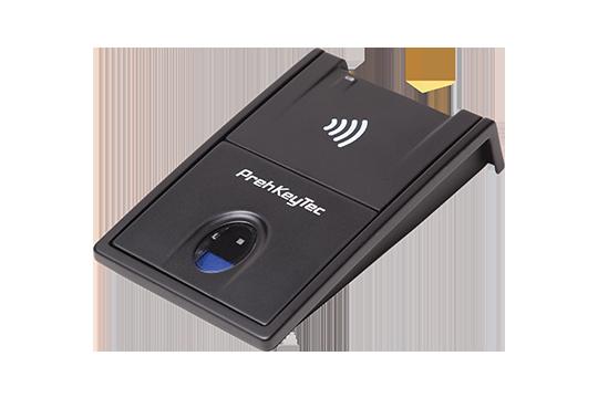 Fingerprint and RFID Reader