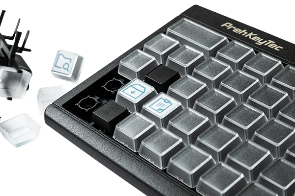 keyboards with relegendable key change technology