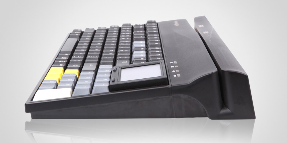 Keyboard MCI 111 A with magnetic card reader
