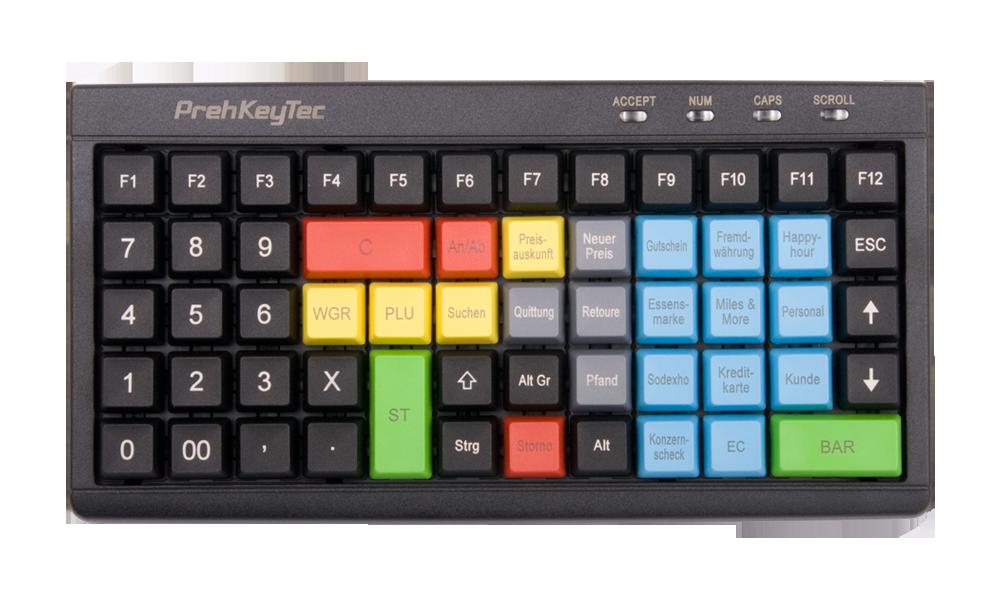 MCI 60 Compact cashdesk keyboards
