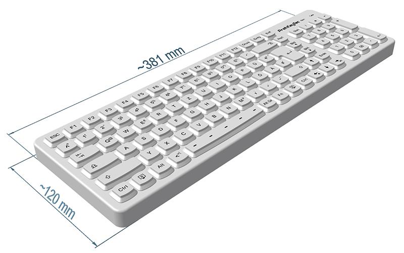SIK 2500   Hygienic Silicone Keyboard